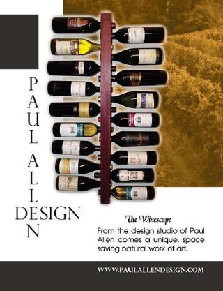 Paul Allen Design wine magazine ad